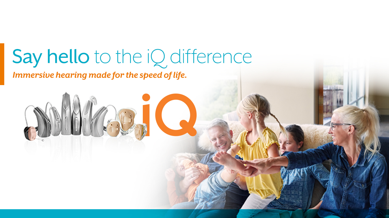 Starkey iQ Hearing Aids - A new dimension in hearing
